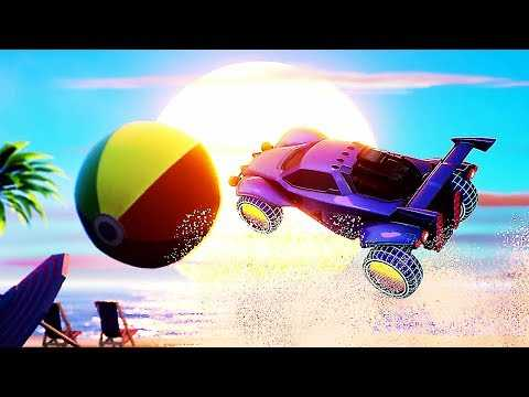 "ROCKET LEAGUE ""Ghostbusters K2000 Beach"" Trailer (2019) PS4 / Xbox One / PC"