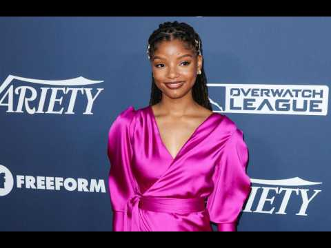Halle Bailey ignores Little Mermaid negativity