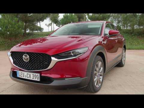 2019 Mazda CX-30 Exterior Design in Soul Red Crystal in Girona