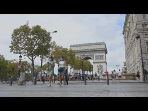 Paris imposes use of face masks in public amid coronavirus woes