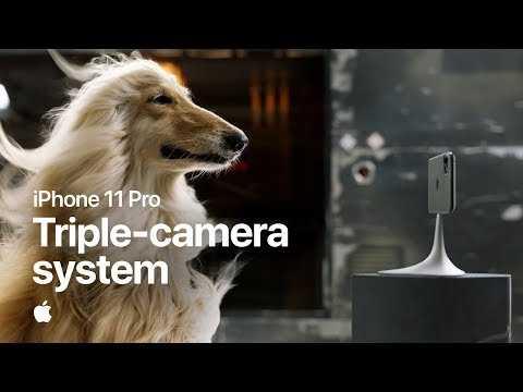 iPhone 11 Pro — Triple-camera system — Apple