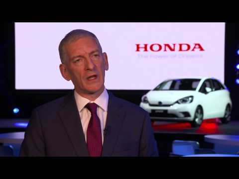 All-new Honda Jazz unveiled - Interview Tom Gardner, Senior Vice President, Honda Motor Europe