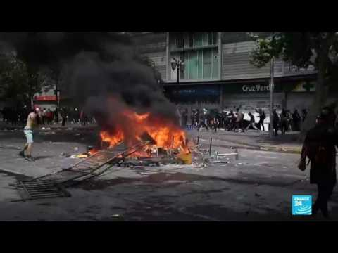 Protests in Chile continue for sixth consecutive day