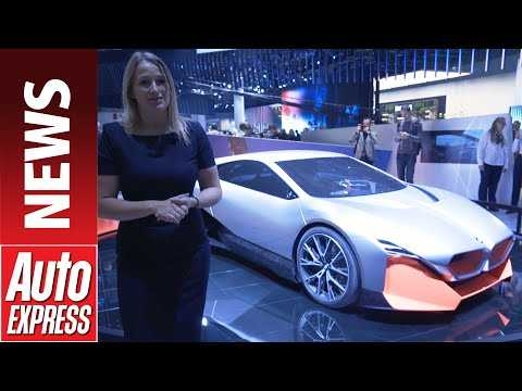 BMW Vision M NEXT concept - futuristic electric sports cars hints at next i8
