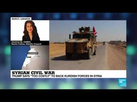 Syrian civil war : Trump move clears way for Turkey to attack Syrian Kurds
