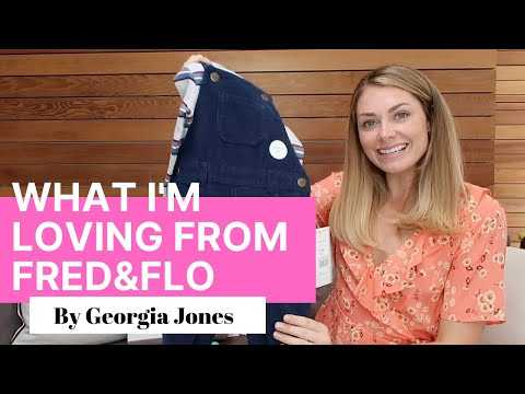 Georgia Jones' Baby Clothes Haul From Fred & Flo!