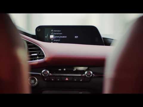 All-New Mazda3 Skyactiv-X Hatchback in Soul Red Crystal Interior Design
