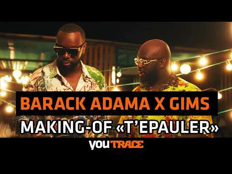 "Barack Adama Feat. Gims - MAKING OF du clip ""T'épauler"""