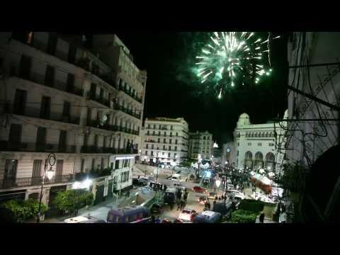 Algerians celebrate Bouteflika's resignation in Algiers (2)