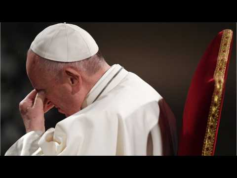 Pope Leads Catholics Into Easter At Vigil Mass In St. Peter's Bascilica