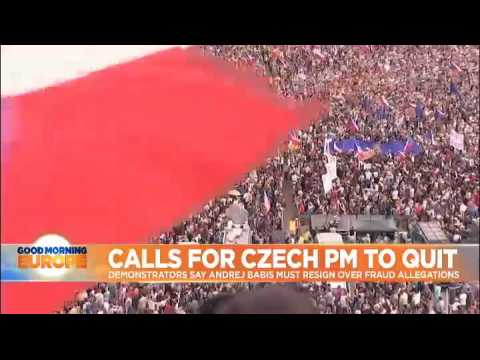 Czech protest organisers call for new political movement in wake of Sunday's Prague demo