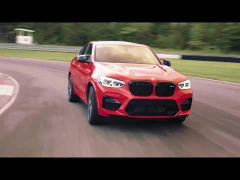 The new BMW X4 M Driving Video in New York, USA