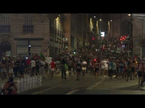 AFCON: Algerian fans clash with police in Marseille
