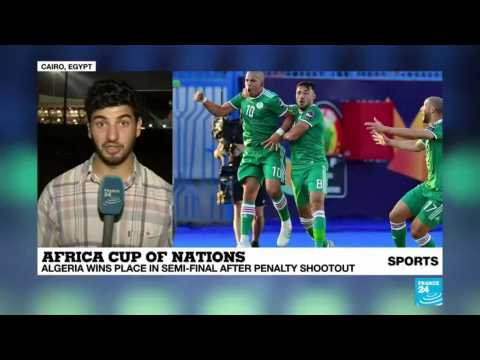 Africa Cup of Nations: Algeria wins its place in semi-final after a very hard battle against Ivory Coast