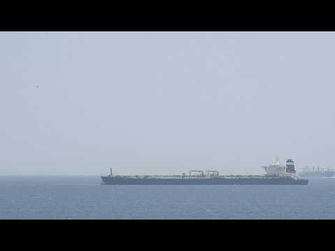 Gibraltar detains tanker suspected of carrying oil to Syria