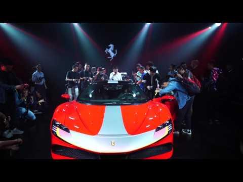Ferrari SF90 Stradale marks China debut in Shenzhen