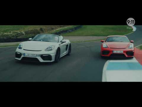 9:11 Magazine - Episode 13 - Porsche 718 Spyder and Cayman GT4