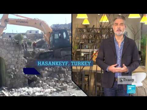 Destroying a historical Turkish town to make way for a dam, and Lebanese bankers refuse local money during crisis
