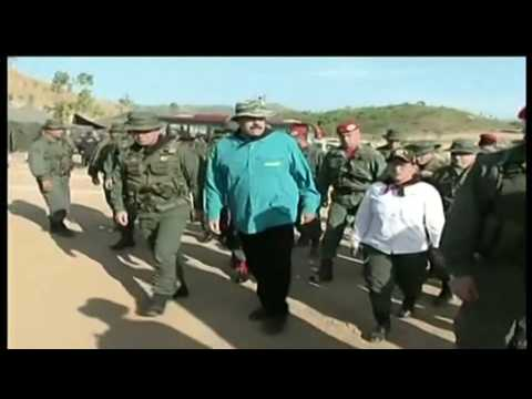 Venezuela's Maduro supervises military exercises
