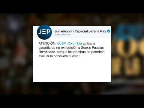 Colombia peace body demands release of ex-FARC leader Santrich