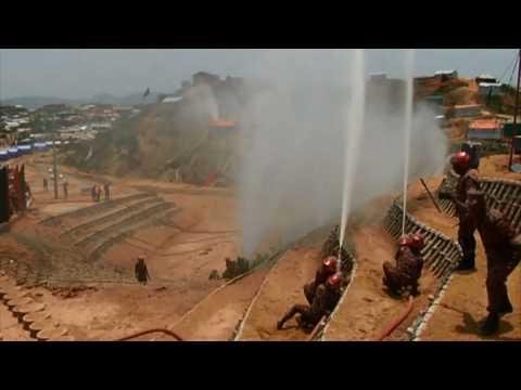 Bangladesh: Rohingya refugee camp prepares for monsoon season