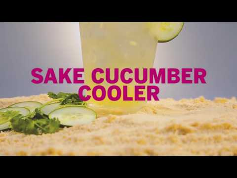 Drink Recipes: How to Make a Sake Cucumber Cocktail