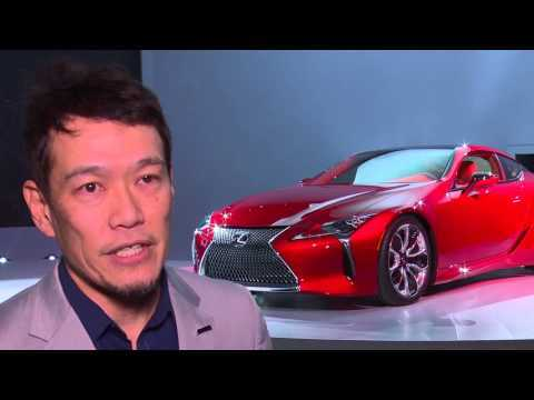 Lexus LC 500 - Interview Tadao Mori, Lexus Chief Designer | AutoMotoTV