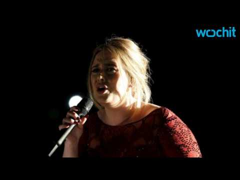 What Happened During Adele's Performance at the Grammys?