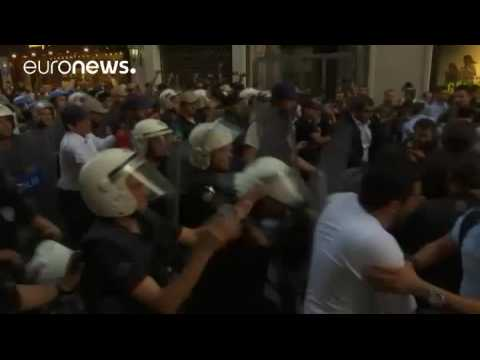 Clashes erupt at rally to mark third anniversary of Gezi park protests