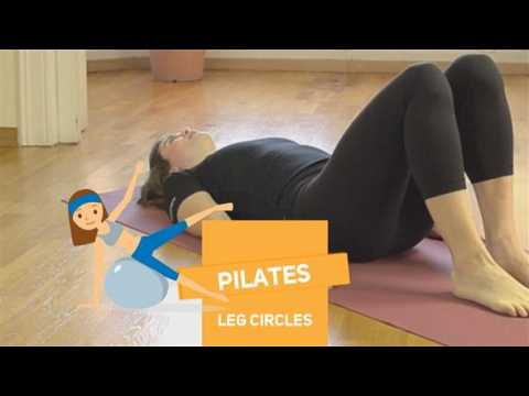 How to in 60 seconds Pilates: Leg Circles