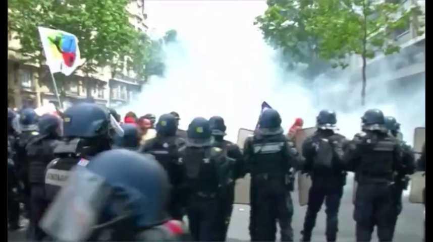 Illustration pour la vidéo Violences : le gouvernement veut limiter les manifestations
