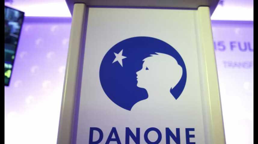 Illustration pour la vidéo Danone rachète WhiteWave Foods pour 12,5 milliards de dollars