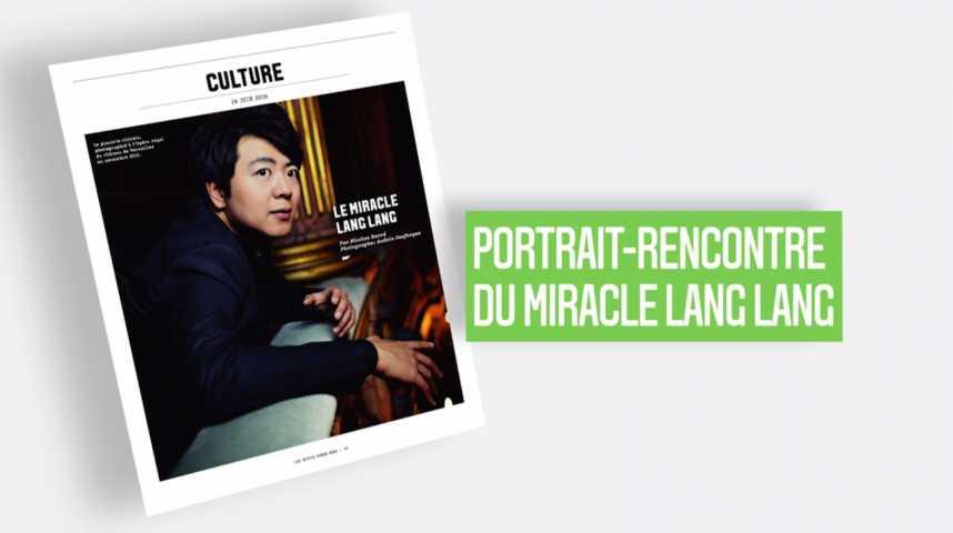 Illustration pour la vidéo Les Echos Week-End : le miracle Lang Lang