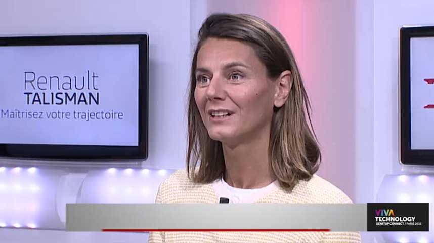 """Illustration pour la vidéo Marion Carrette (Ouicar) : """"Avec la SNCF on a le déplacement porte-à-porte au centre de notre activité"""""""