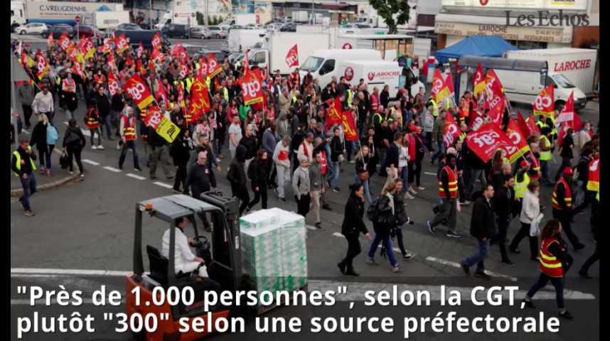 Illustration pour la vidéo Loi travail : Blocage de Rungis