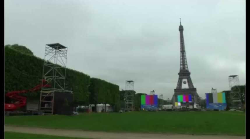 Illustration pour la vidéo Euro 2016 : les perturbations à prévoir