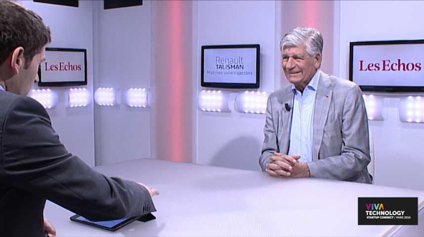 """Illustration pour la vidéo Maurice Lévy: """"Vivatech est un évènement très impressionnant"""""""