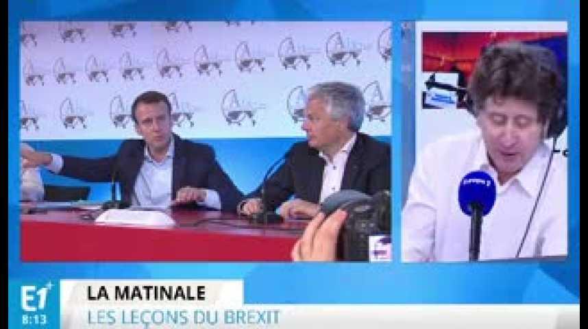 Illustration pour la vidéo Brexit : mondialisation vs. protectionnisme