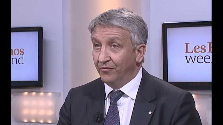 Illustration pour la vidéo Thierry Sybord, directeur général de Volkswagen France