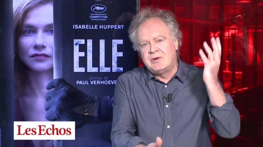 """Illustration pour la vidéo La reine Huppert dans """"Elle"""", au cinéma cette semaine"""