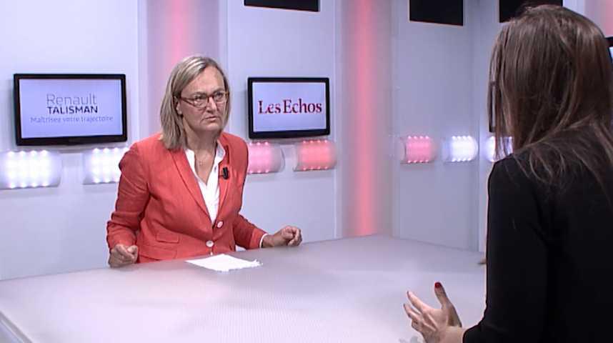 """Illustration pour la vidéo Karine Berger: """"La loi Sapin 2, c'est plus d'efficacité contre la corruption"""""""