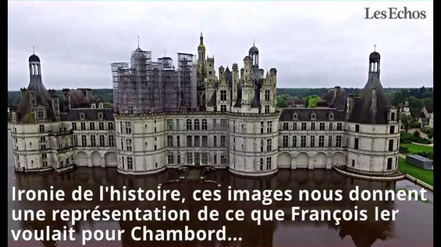 Illustration pour la vidéo Chambord sortant des eaux