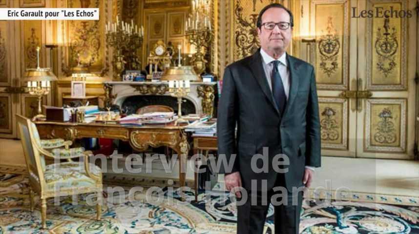 Illustration pour la vidéo  Ce qu'il faut retenir de l'interview de François Hollande
