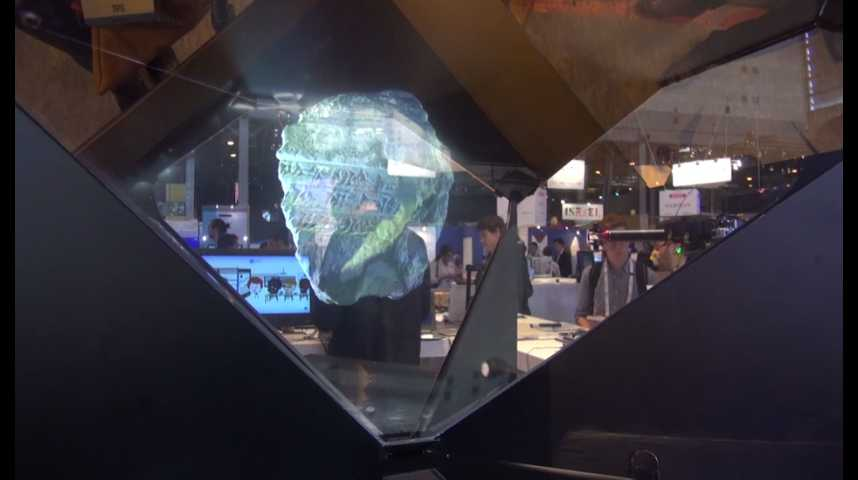Illustration pour la vidéo Thibault Guillaumont (Holusion) : « Créer des musées virtuels grâce aux  hologrammes »