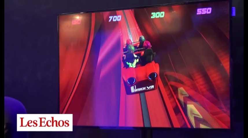 Illustration pour la vidéo Test tech : le roller blaster de Partouche
