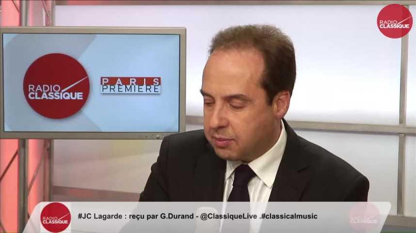 """Illustration pour la vidéo """"Je souhaiterais qu'Alain Juppé dise qu'il est prêt à relever le gant"""" Jean-Christophe Lagarde (06/03/2017)"""