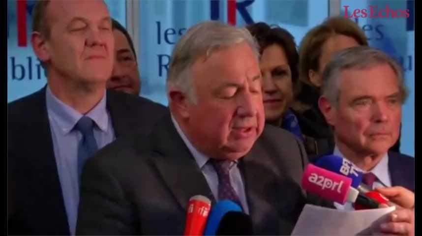 Illustration pour la vidéo François Fillon confirmé à l'issue d'un comité politique