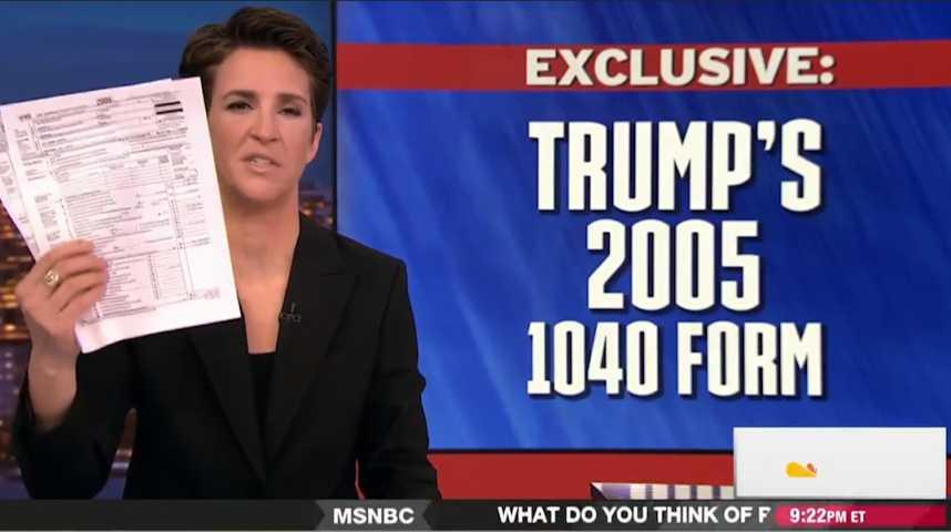 Trump, ses salaires, ses impôts, ses emm...