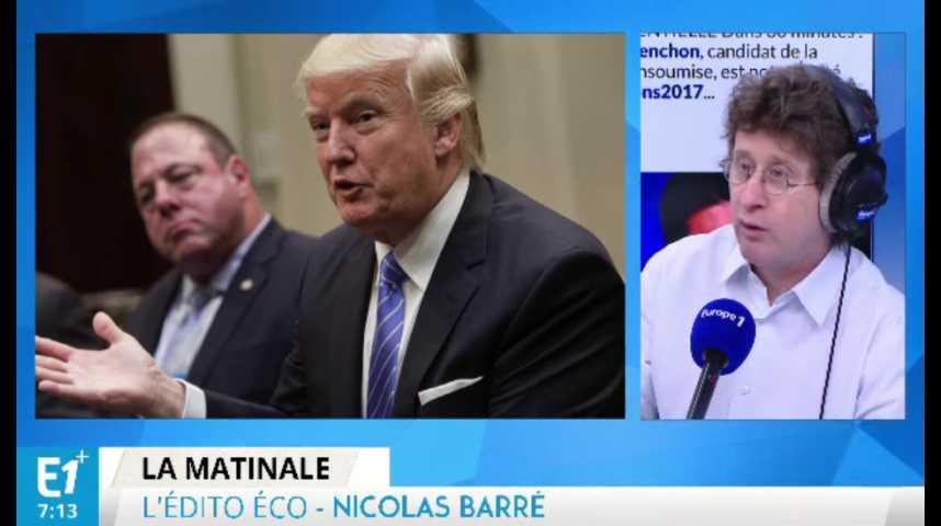 Illustration pour la vidéo Donald Trump veut taxer les importations de 20%