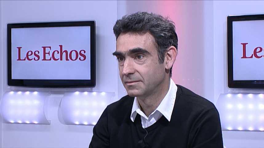 Illustration pour la vidéo L'Invité des Echos : Olivier Marcheteau, directeur général de Vestiaire Collective
